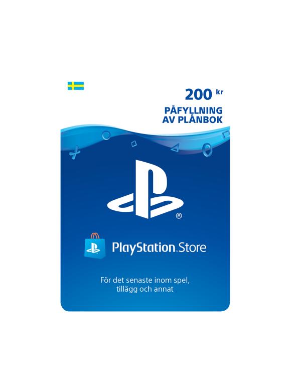 Playstation Network Card 200 Kronor (SE) (PS3/PS4/Vita)