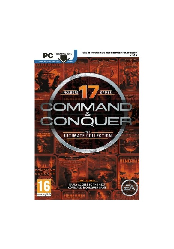 Command & Conquer: The Ultimate Collection (Code via email)
