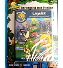 Pixeline Skolehjælp - Engelsk - My Name Is Pixeline Med bog