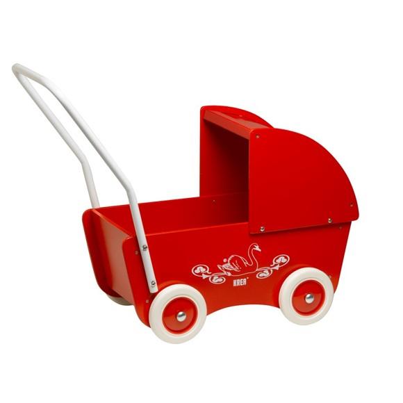 KREA - Dukkevogn - Rød