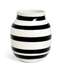 Kähler - Omaggio Vase Black - Medium (11962)