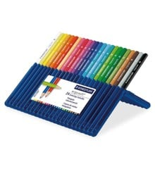 Staedtler - Ergosoft - Coloured Pencils, 24 pcs (157 SB24)