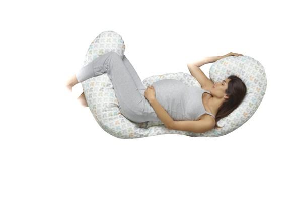 Chicco - Total Body Pregnancy Pillow - Boppy Silverleaf (2046-205-830)