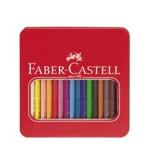 Faber-Castell - Jumbo Grip Colour Pencils Tin - 16 pc (110916)