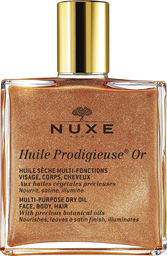 Nuxe - Huile Prodigieuse Golden Shimmer Face and Body Oil 50 ml