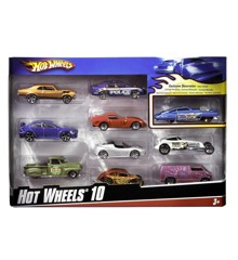 Hot Wheels - 10 Car Pack (54886)