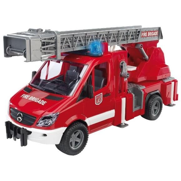 Bruder - Mercedes Benz Brandbil med lys & Lyd (2532)