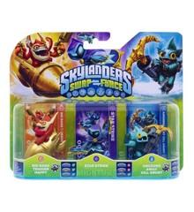 Skylanders Swap Force: Triple Pack (Star Strike, Gill Grunt, Trigger Happy)