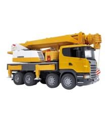 Bruder - Scania Kranbil m. Lys & Lyd (3570)