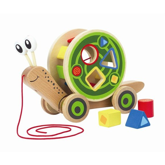 Hape - Walk-A-Long Snail (5747)