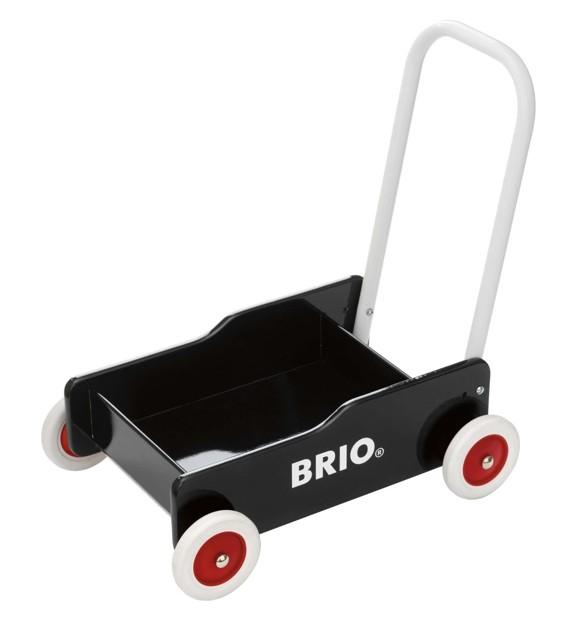 BRIO - Gåvogn, Sort (31351)