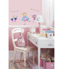 Roommates Wallstickers - Prinsesse (RMK1015SCS)