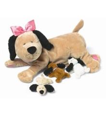 Manhattan Toy - Hunden Nana med hvalpe (106690)