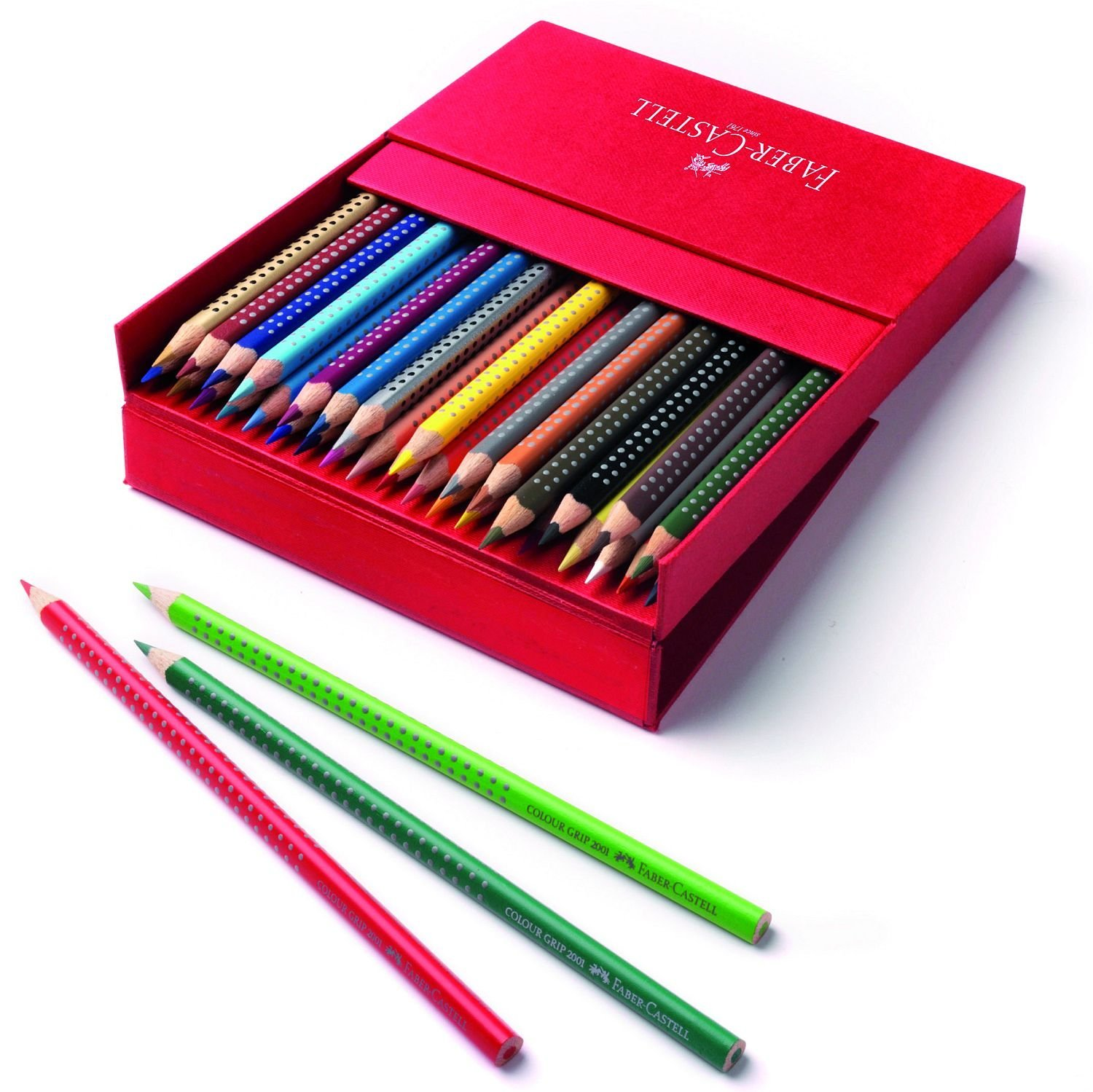 Faber-Castell - Buntstift Colour GRIP 36er Atelierbox (112436)
