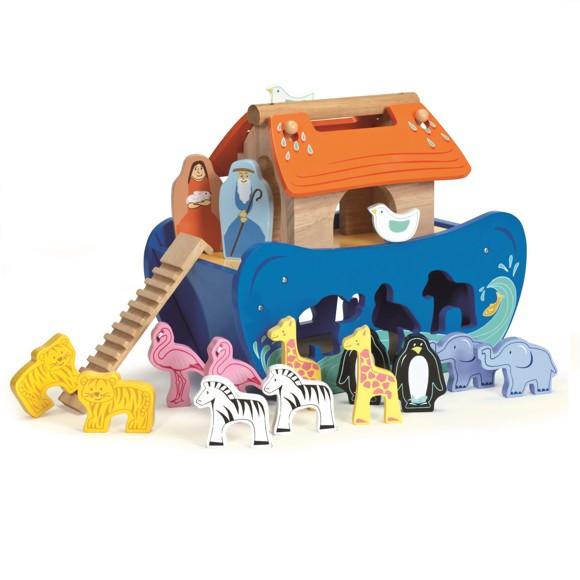 Le Toy Van - Stor Noahs ark puttekasse