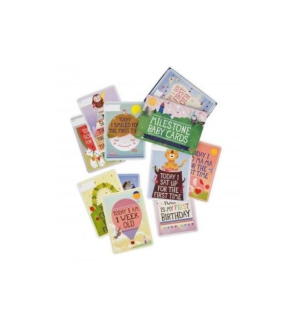 Milestone Baby Cards - English