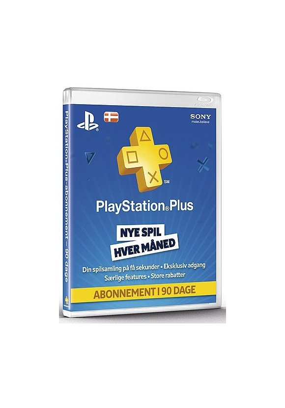 PSN Plus Card 3m Subscription DK (Code via email) (PS3/PS4/PS5/Vita)