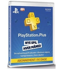 PSN Plus Card 3m Subscription DK (Code via email) (PS4)