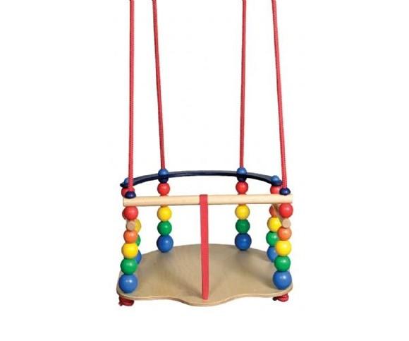 KREA - Wooden baby Swing - Luxus (376A)