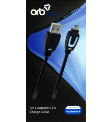 USB Charge and Play LED 3M for PS4 Controller (ORB)