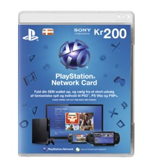 Playstation Network Card 200 Kroner (Code via email) (PS3/PS4/Vita) /PS3 DOWNLOAD
