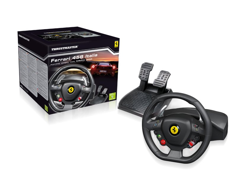 Ferrari 458 Italia wheel For PC & X360 (Thrustmaster)