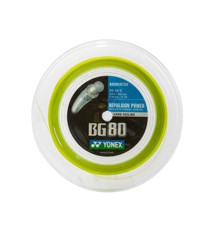 Yonex - Badmintonstrenge BG-80 gul 200m