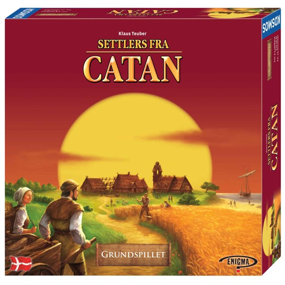 Settlers of catan Boardgame (Danish)
