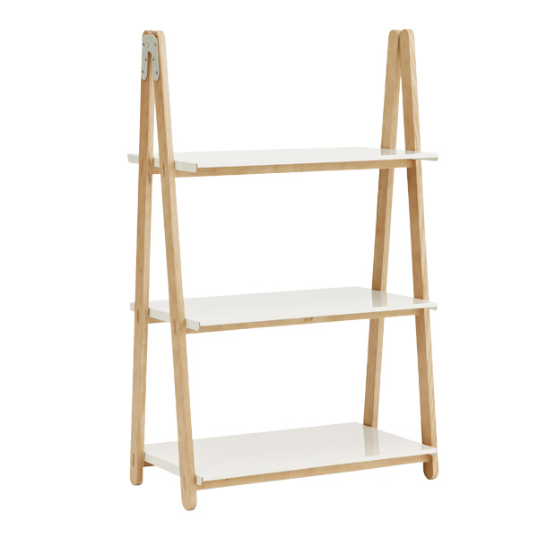 Normann Copenhagen - One Step Up Bookcase Low White