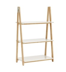 Normann Copenhagen - One Step Up Bookcase Low White