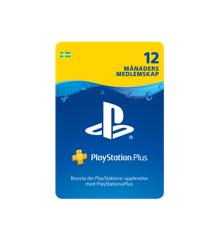 PSN Plus Card 12m Subscription SE (PS3/PS4/PS5/Vita)
