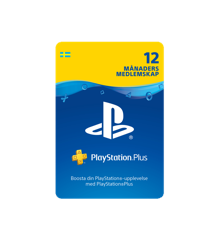 PSN Plus Card 12m Subscription SE (PS3/PS4/Vita)
