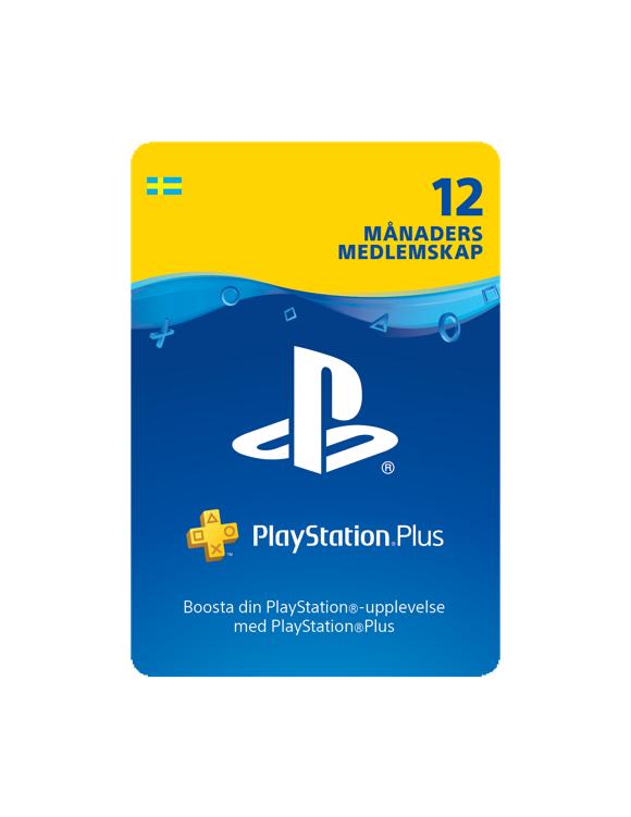 PSN Plus Card 12m Subscription SE (PS3/PS4/Vita)