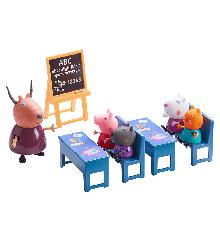Gurli Gris - Lille klasseværelse med figurer
