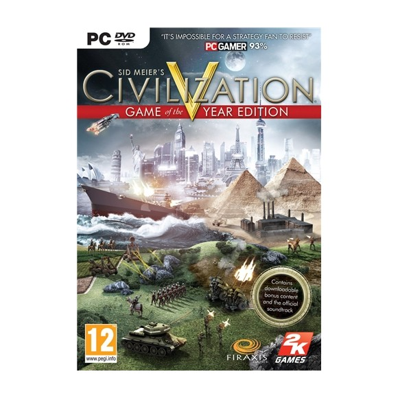 Civilization V (5) Game of the Year Edition