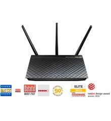 Asus - RT-AC66U Dual-Band Wireless 1.75Gbps Router