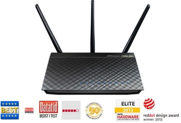 Asus RT-AC66U Dual-Band Wireless 1.75Gbps Router