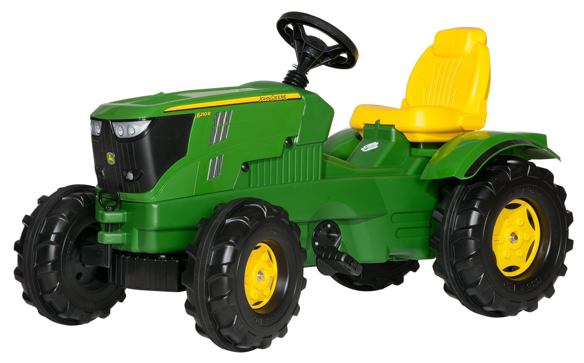 Rolly Toys - John Deere Tractor 6210R - Pedal ride-on (601066)