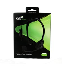 ORB Xbox 360 Wired Headset (Black)