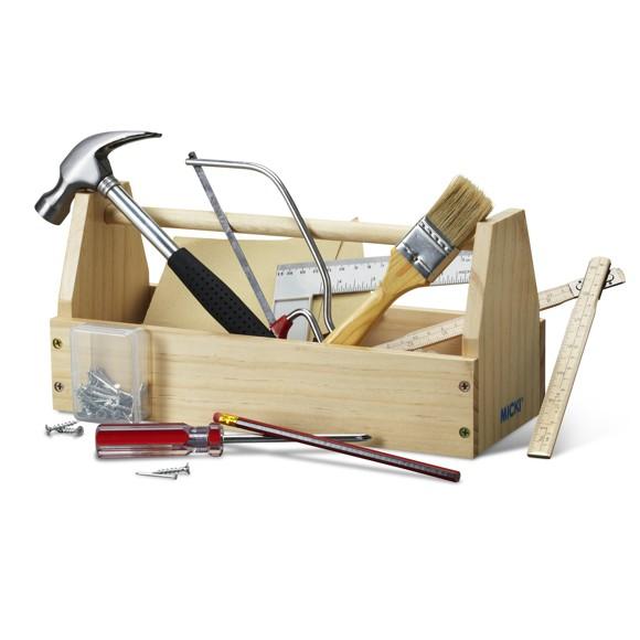Micki - Værktøjskasse med værktøj
