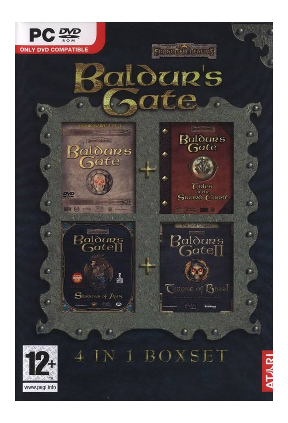 Baldurs Gate Compilation (1+2 + adds)