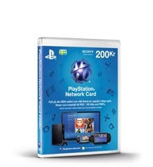 Playstation Network Card 200 Kronor (Code via email) (SE) (PS3/PS4/Vita) /PS3 DOWNLOAD