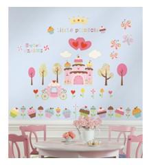 Roommates - Happi Cupcake Land - Wallstickers (RMK1605SCS)