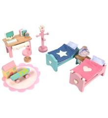 Le Toy Van - Dukkehusmøbler Daisylane Børneværelse (LME061)