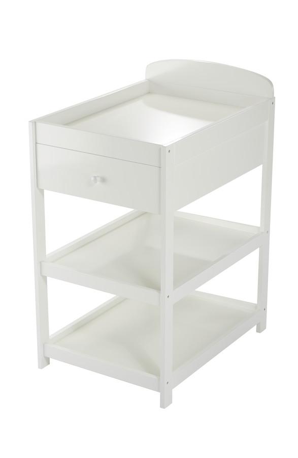 Bilde av Baby Dan - Alfred - Changing Table - White (4143-01)