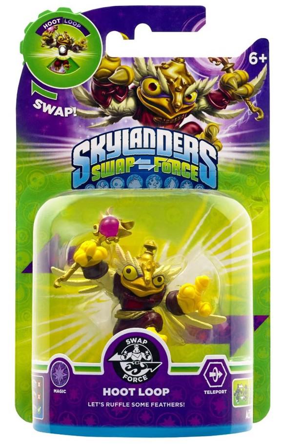Skylanders Swap Force: Hoot Loop (Shapeshifter) (Magi)