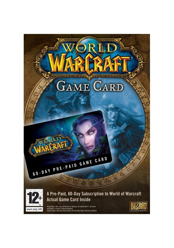 World of Warcraft GameCard 60-days (Code via email) /PC DOWNLOAD