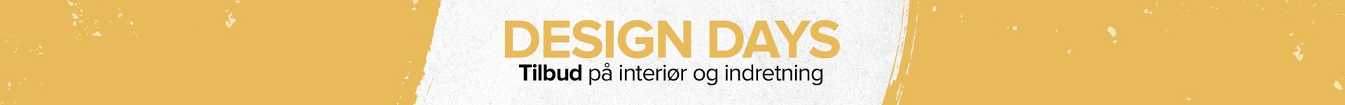 Design Days - Slutter i aften kl. 23.59