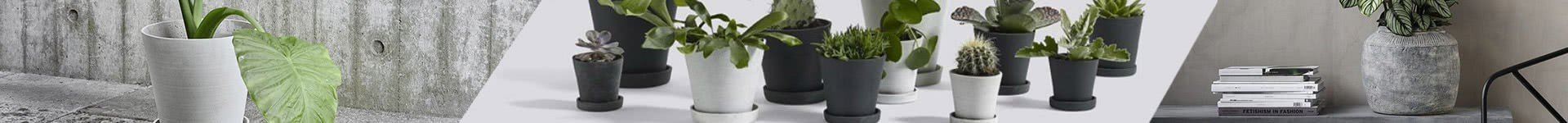 Urtepotter, krukker og plantekasser