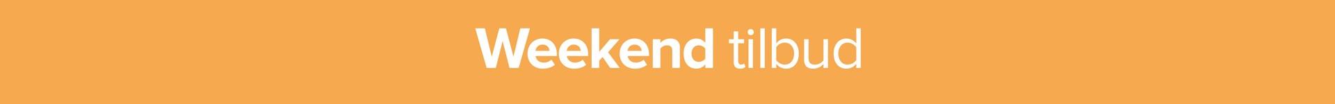 Weekend tilbud